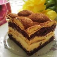 Ciasto latte macchiato (z mlekiem w proszku)