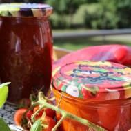 przetwory - sos paprykowo pomidorowy