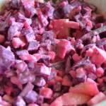 Obiadowa sałatka z buraczka