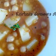 Zupa z ciecierzycą / cieciorką