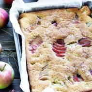 Ciasto z jabłkami kardamonem i rumem
