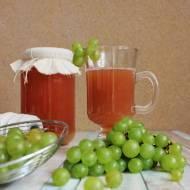 Sok z jasnych winogron (na zimę)