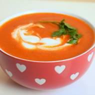 Zupa krem ze świeżych pomidorów :)
