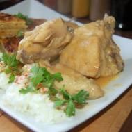 """Pollo en Pepitoria""  hiszpańska potrawka z kurczaka"
