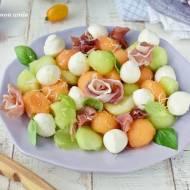 Sałatka melon z mozzarellą - La dolce Vita