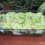 Sałatka z zielonym ogórkiem