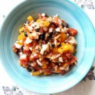 Salsa mexicana, sos z pomidorów