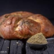 Chałka z oliwą i za'atarem