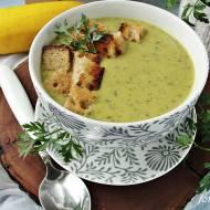 Zupa krem z cukini i pora