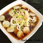 Zupa Dashi z Kasztanami