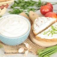 domowy serek kanapkowy – kremowy