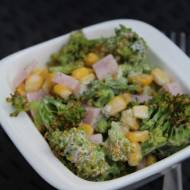 szybka sałatka z brokułem