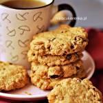 Ciastka Owsiano – Kokosowe z Orzechami