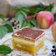 """Ciasto """"Budyniowe jabłuszko"""""""