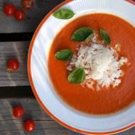 Zupa - krem pomidorowy z mleczkiem kokosowym