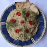 Baba ghanoush – pasta dip z bakłażana