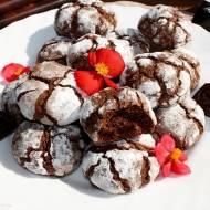 Chocolate Crinkles, czyli popękane ciasteczka czekoladowe
