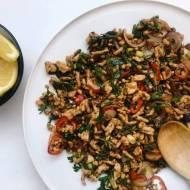 Wtorek: Larb moo, czyli mięsna sałatka