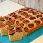 Ciasto babuni ze śliwkami