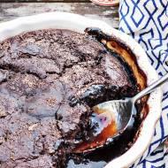 Czekoladowe ciasto na gorąco z lodami