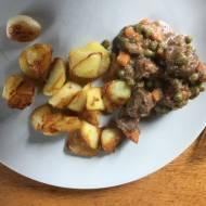guiso de jabalí con níscalos (gulasz z dzika, z rydzami)