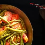 Smażone pomidory z fasolką - eliksir długowieczności
