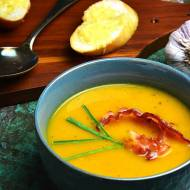 Zupa krem z dyni na żurku