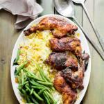 Udka z kurczaka marynowane w sosie musztardowym