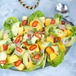 Karaibska sałatka z mango i awokado