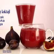 Jesienny koktajl - bomba witaminowa - burak+figa+śliwka