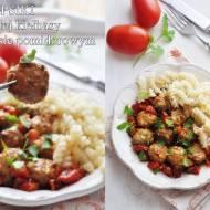 Klopsiki z kiełbasy w sosie pomidorowym