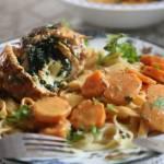 Roladki z kurczaka z nadzieniem ze szpinaku i sera