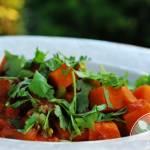 Wegańskie chilli z batata i fasoli