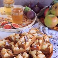 Dyniowy placek z jabłkami