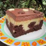 Ciasto budyniowy król/poke cake