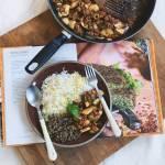 mięso mielone z ryżem i warzywami