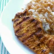 Grillowana pierś z kurczaka z curry