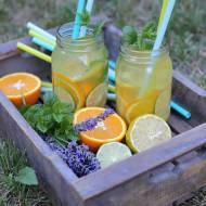 Lemoniada cytrusowa z miętą