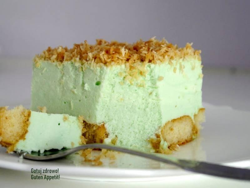 Ciasto śnieżny puch - bajeczy serniczek