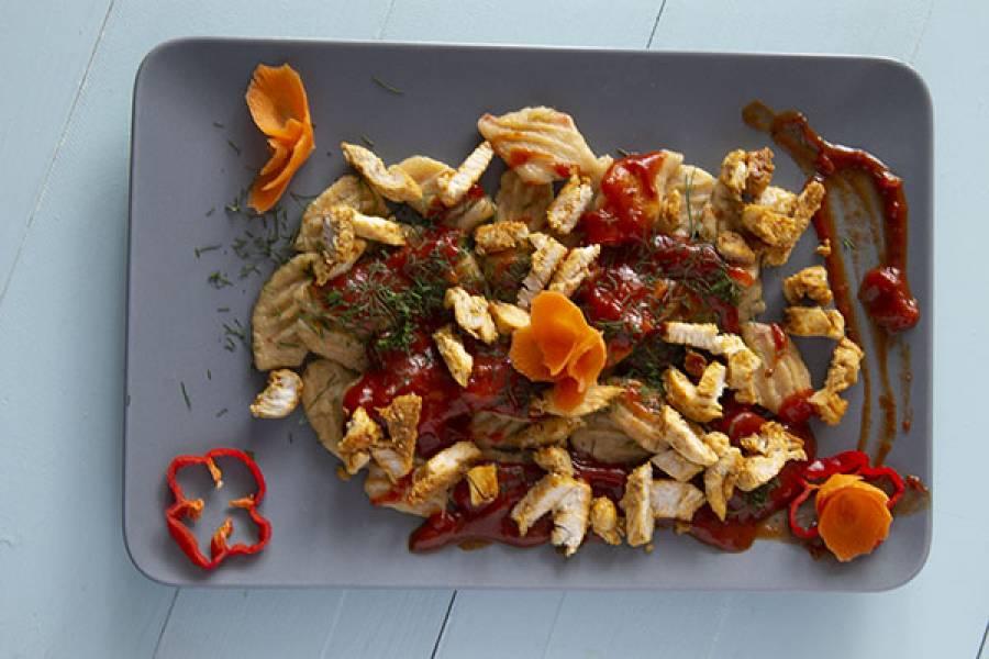Gnocchi ziemniaczane z papryką