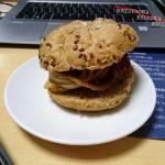 Burger z głogu i soczewicy czyli kajzerka pomyślności