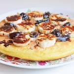 Prosty omlet bezglutenowy z mąki jaglanej :)