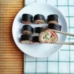Sushi po polsku, czyli sushi z kaszą jaglaną