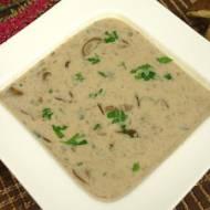Pyszna zupa grzybowa