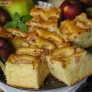 Ciasto jabłkowe z cynamonem