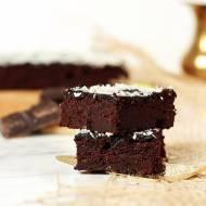 Bardzo Czekoladowe Brownie Z Cukinią