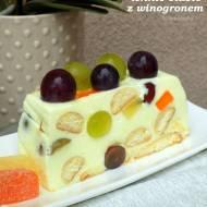 lekkie ciasto z winogronem