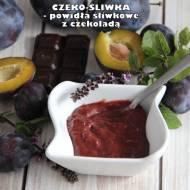 Czeko-śliwka (z gorzką czekoladą)