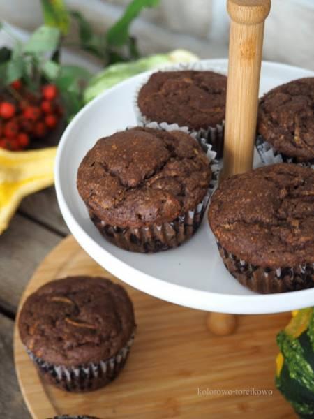 Muffiny cukiniowo-bananowe