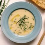 Piątek: Zupa Vichyssoise, czyli krem z ziemniaków i porów